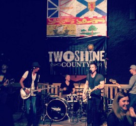 TwoShine County at Fundraiser